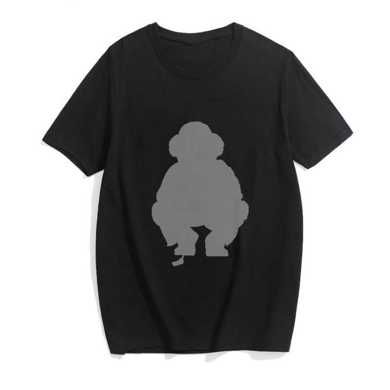 HIP HOP POLO BEAR MODE IMPRESSION PUNK T-shirt Hommes Surdimensionnés Tops Streetwear Summer T-shirt Homme T-shirt Gothic Tee DydHG251