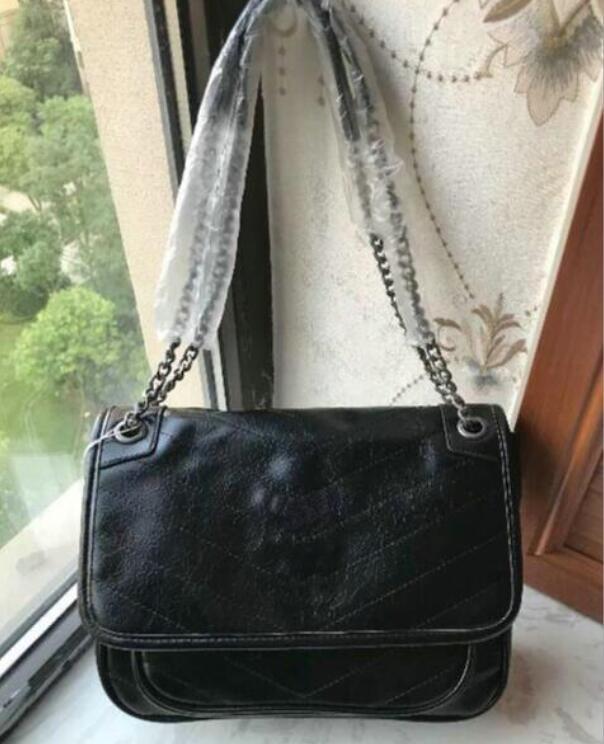 2021 Fashion Damas Cadena Bolsas de hombro Female Messenger Bag Women Crossbody Venta caliente Muy bolso Buena calidad Tamaño grande: 28x20cm Juan2003