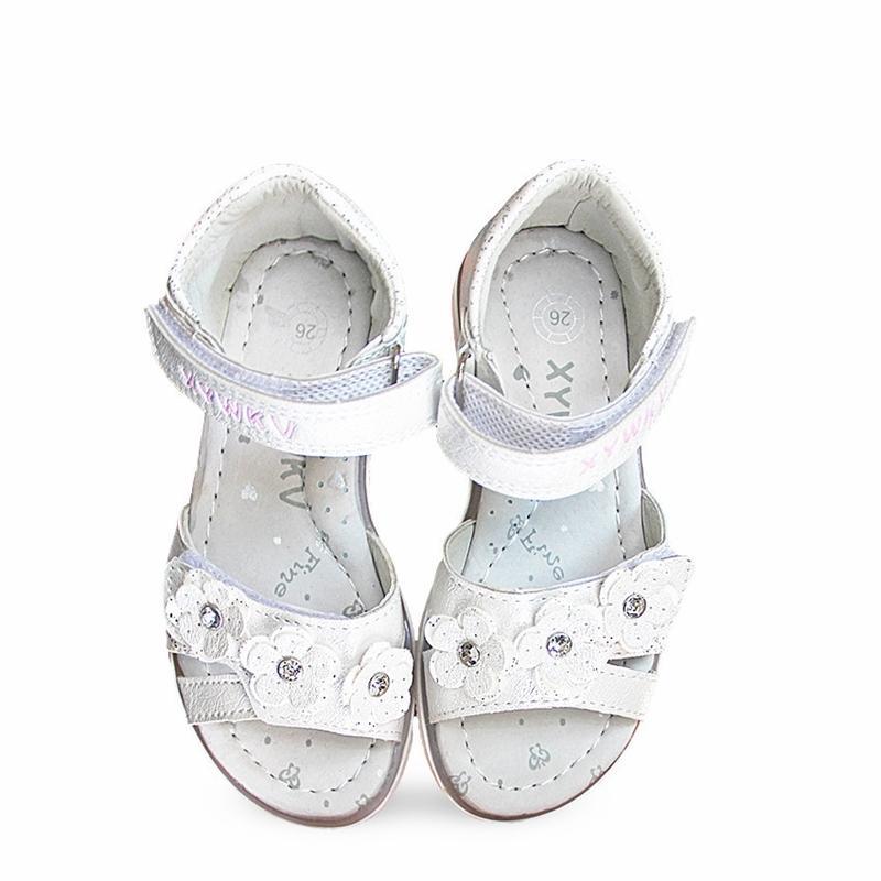 Мода 1 Пара Цветочные ортопедические Сандалии Детская Обувь, Супер Качество Девушки Девушки Y200404
