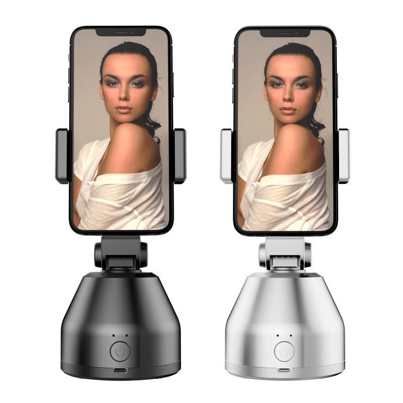 360 Rotasyon Oto Akıllı Çekim Selfie Stick Akıllı Takip Gimbal AI-kompozisyon Nesne İzleme Yüz İzleme Standı LJ200916