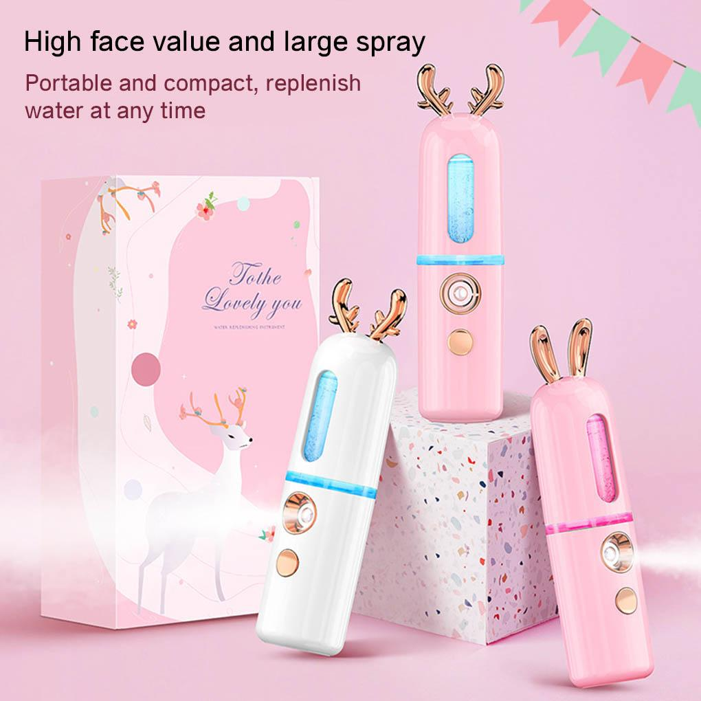 Vapeur facial Portable Mini Nano Pulvérisateur USB Nébuliseur Humidificateur Hydratant Femmes Beauté Soins de la peau Outils