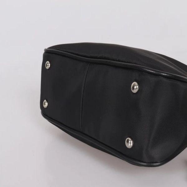 Hobo polyester çanta naylon toptan çanta crossbody messenger çanta omuz kadınlar için üreticiler siyah mektup oksra