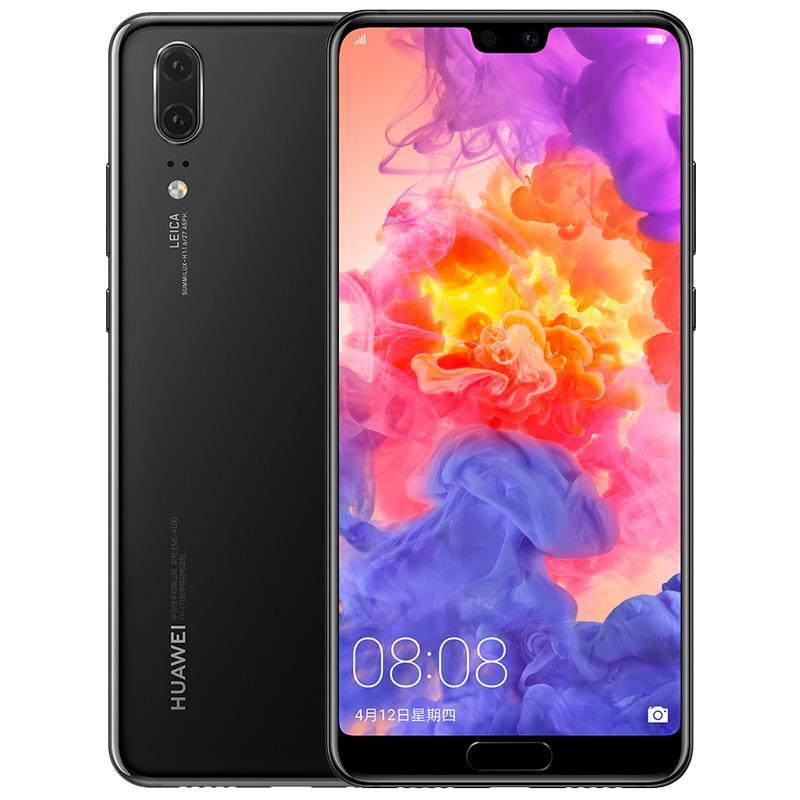 "Original Huawei P20 4G LTE Cell Phone 6GB RAM 64GB 128GB ROM Kirin 970 Octa Core Android 5.8"" 24.0MP Face ID Fingerprint Smart Mobile Phone"