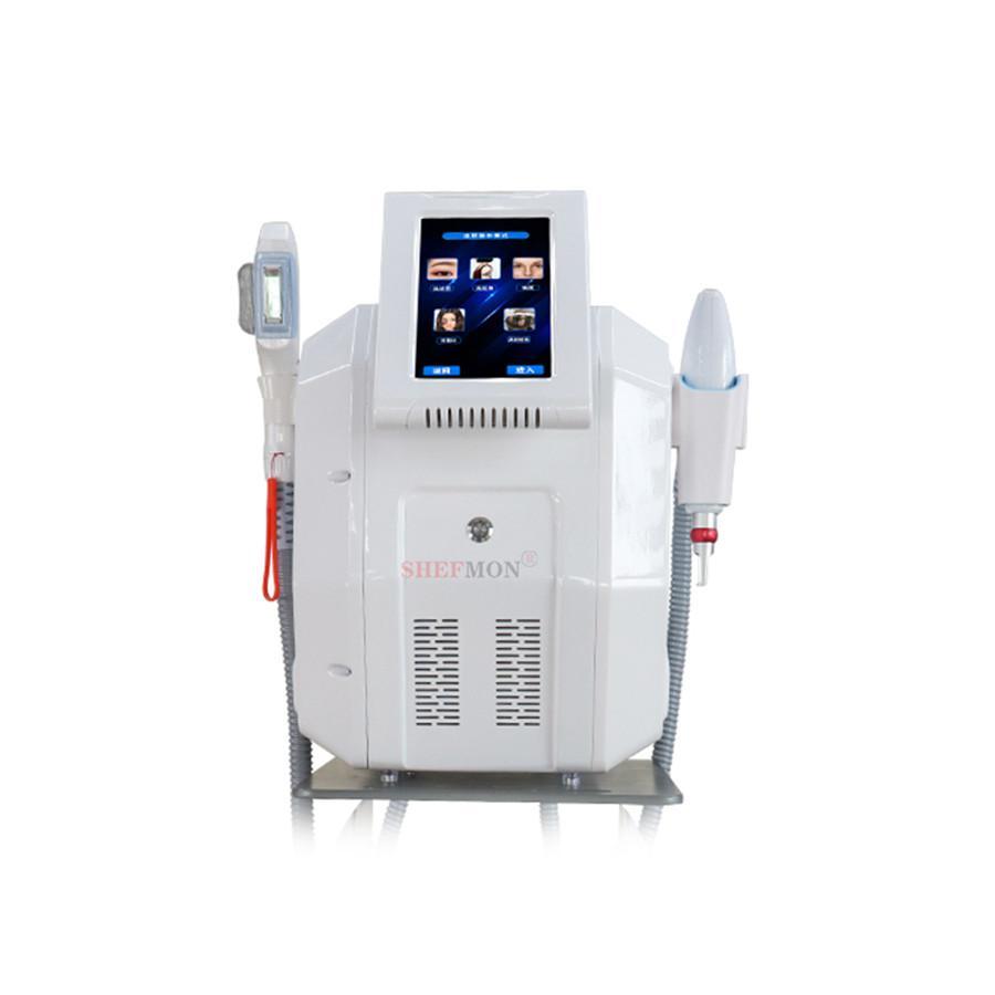 2 en 1 opt IPL épilateur d'hémure ND YAG PicoSecond Laser Tattoo Supprimer la machine de beauté en vente
