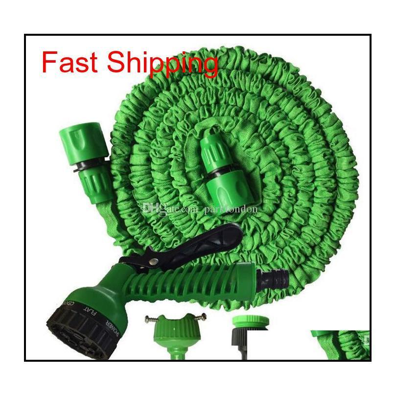 Expandable Garden Hose Flexible Garden Water Hose 50ft For Car Hose Pipe Watering Irrigation With Spray Gun 15m Wit qylKFi yh_pack