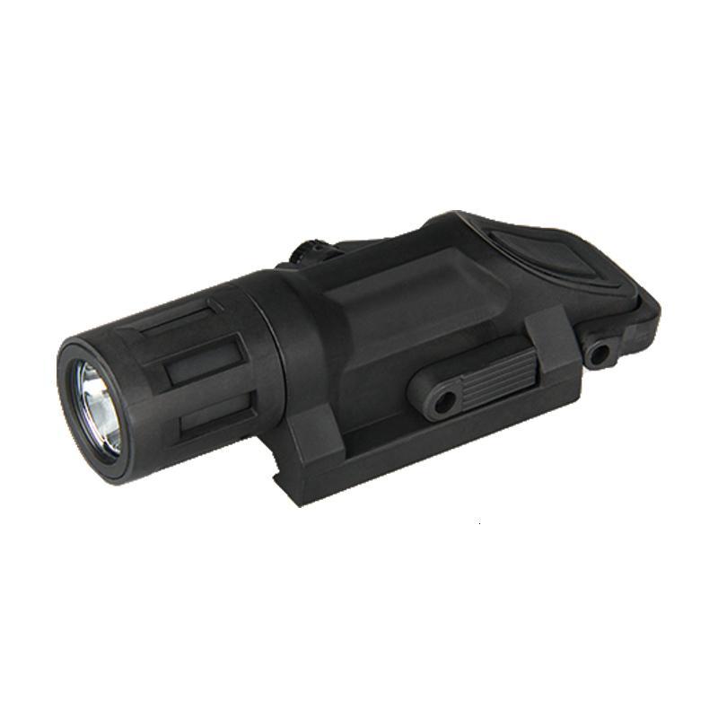 Luz montada multifunción LED blanca al aire libre Trijicon para la caza con un accesorio de paintball de tiro BK de envío gratis CL15-0072