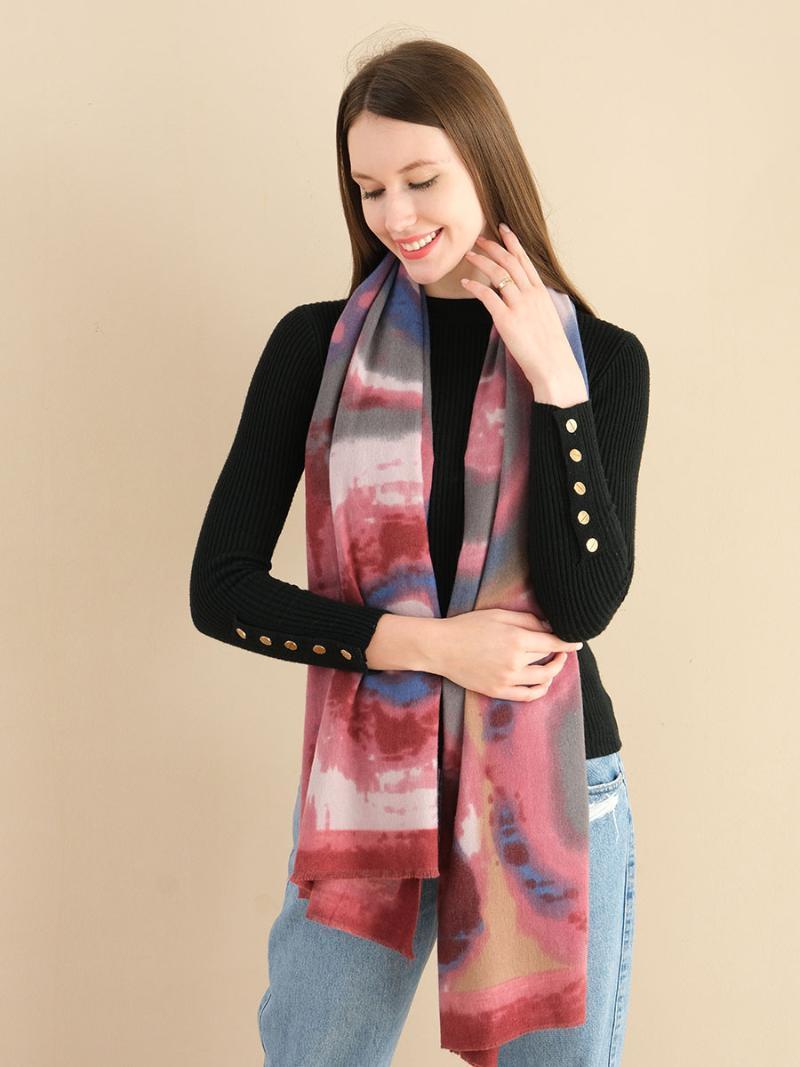 Nuova sciarpa invernale per le donne calda personalità di lusso paisley stampa moda design signore scialle di alta qualità 180x70cm