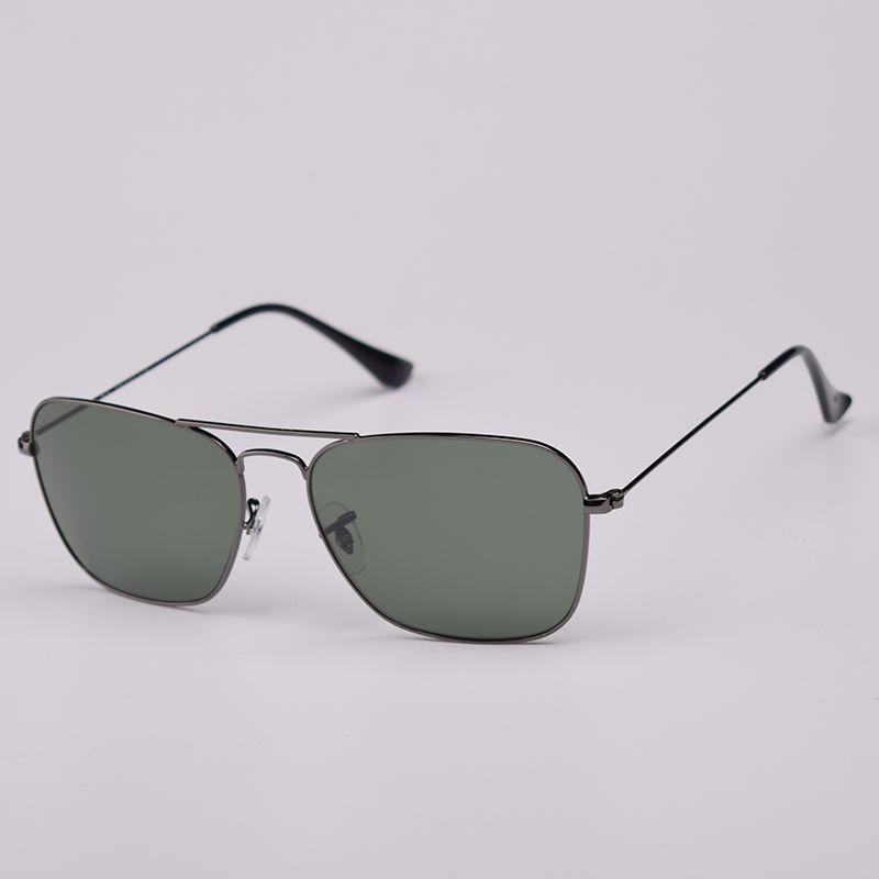 حقيقي أعلى جودة الأزياء الكلاسيكية زجاج عدسة النظارات الشمسية النساء الرجال ساحة الشمس نظارات للإناث الذكور القيادة نظارات gafas دي سول ظلال