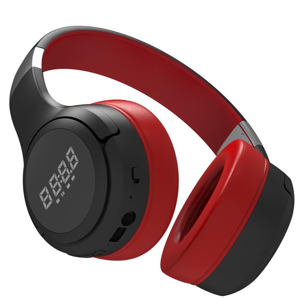 Беспроводные Bluetooth Наушники Складной Бас Беспроводная гарнитура с микрофоном для компьютера, Телефоны Поддержка TF Card Высокое качество WJJDZ