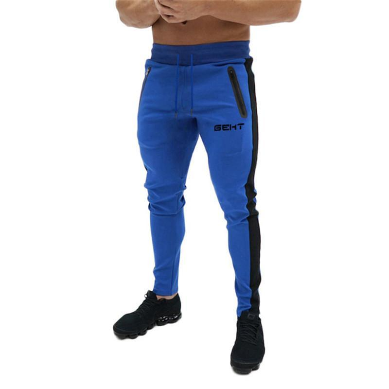 Skinny Hose Herren Gym Fitness Track Hose Joggers Jogginghosen Männer Sporttraining Männliche Laufende Männer Bb3