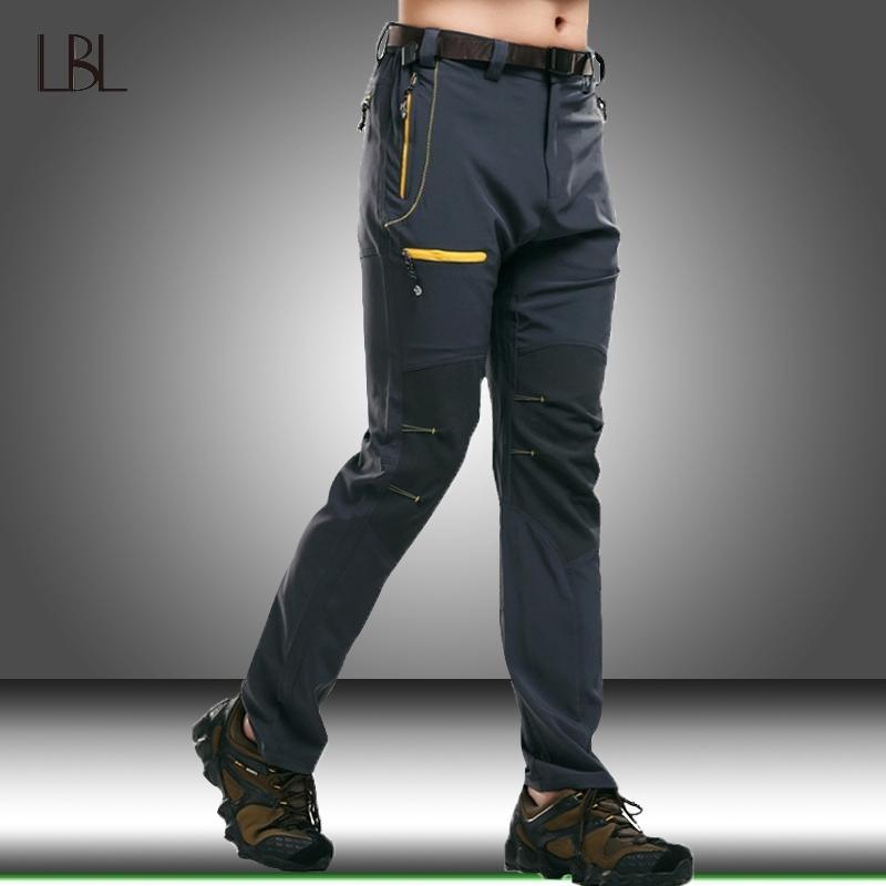 Мужские водонепроницаемые быстрые сухие военные штаны Мужчины упругие дышащие горные наружные брюки мужские джоггер тактические тонкие спортивные штаны 201109