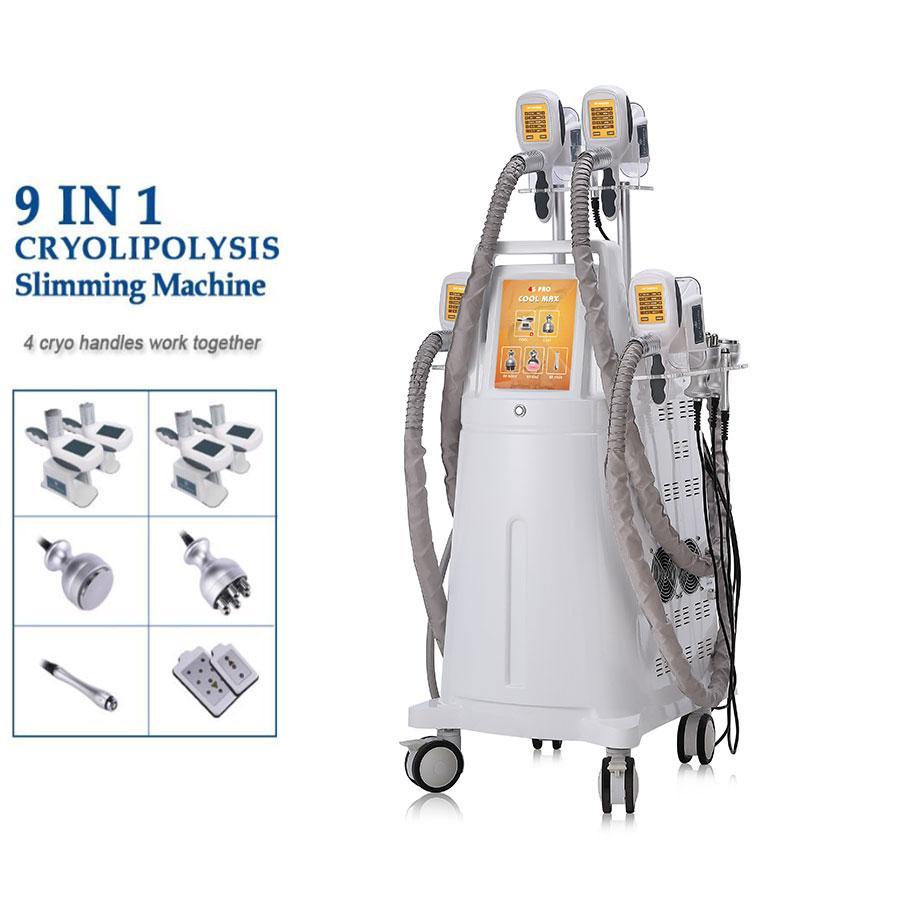 Cryolipolysis Cavitation Body 슬리밍 미용 기계 3D Cryolipolysis 시스템 Cryotherapy Fat Freeze Machine 살롱 장비 가정용