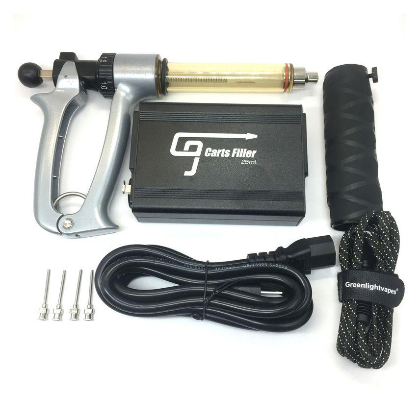 G9 Semi automatique de la machine de remplissage d'huile d'injection 510 Atomiseur de remplissage Vape stylo 0.5ml 1.0ml Chariots de remplissage Seringes de remplissage Outils avec aiguille de verrouillage Luer