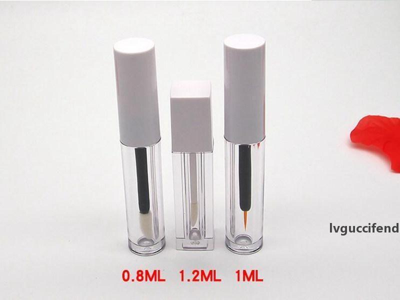 Neue 1ml Wimpernwachstum Flüssigkeit Flasche Leere Tube Eyeliner Flüssigkeit Leere Flasche Lip Gloss Lip Gloss Probe Versuch Flasche VE Subflasche