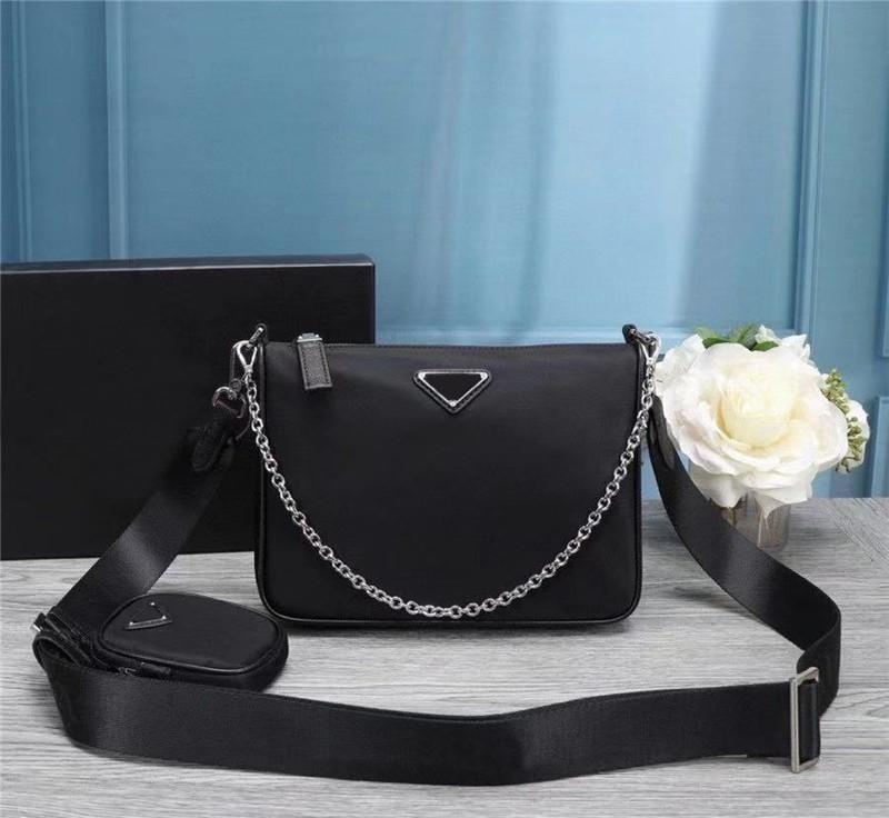 Brieftasche Klassische Herrendesigner Qualität Umhängetasche Handtaschen Kleine Geldbörse Taschen Leder Hohe Nylon Europa Cowhide Womens Luxurys Leinwand EB Boqx