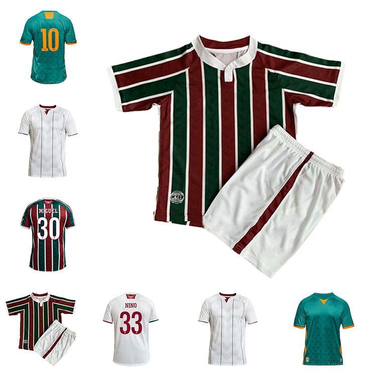 2020 Qualidade Top Quality Fluminense Futebol Jerseys Away 3Rd 20 21 FC PH GANSO EVANILSON NINO MIGUEL FUTEBOL