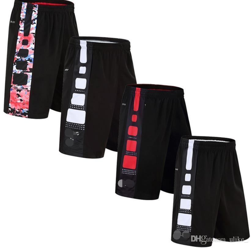 Quick-Dry sport Basket Pantaloncini da corsa Fitness Sport Uomini Sport Uomini Fuori Gym Yoga Workout Pantalone corto Contro Pantaloncini felpati