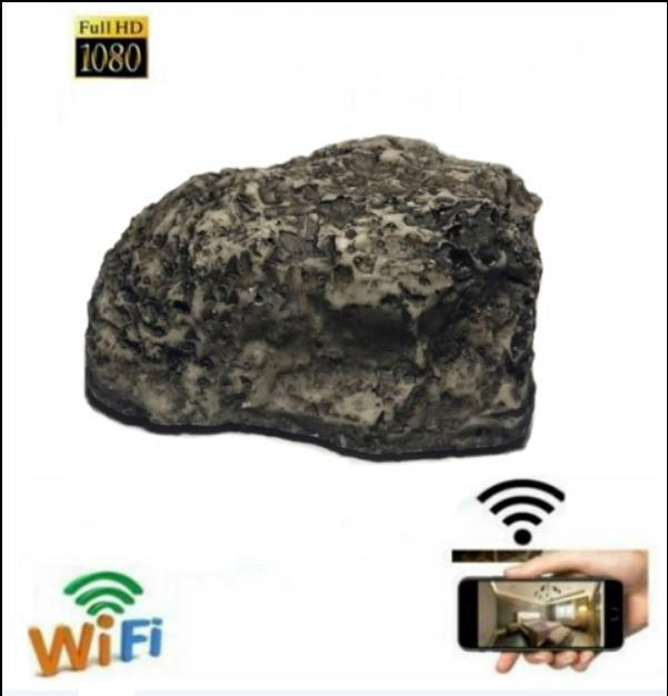 2020 HOT New 1080P HIGH definition WiFi network mobile decorative stone security nanny butler video recorder Decorative security camera