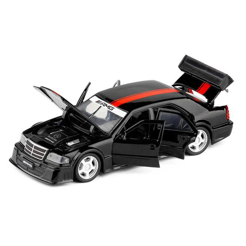1/32 C-CLASS AMG DTM Simulation Toy Car Model Alloy Children Toys Genuine License Collection Military Off-Road Vehicle Kids Z1124
