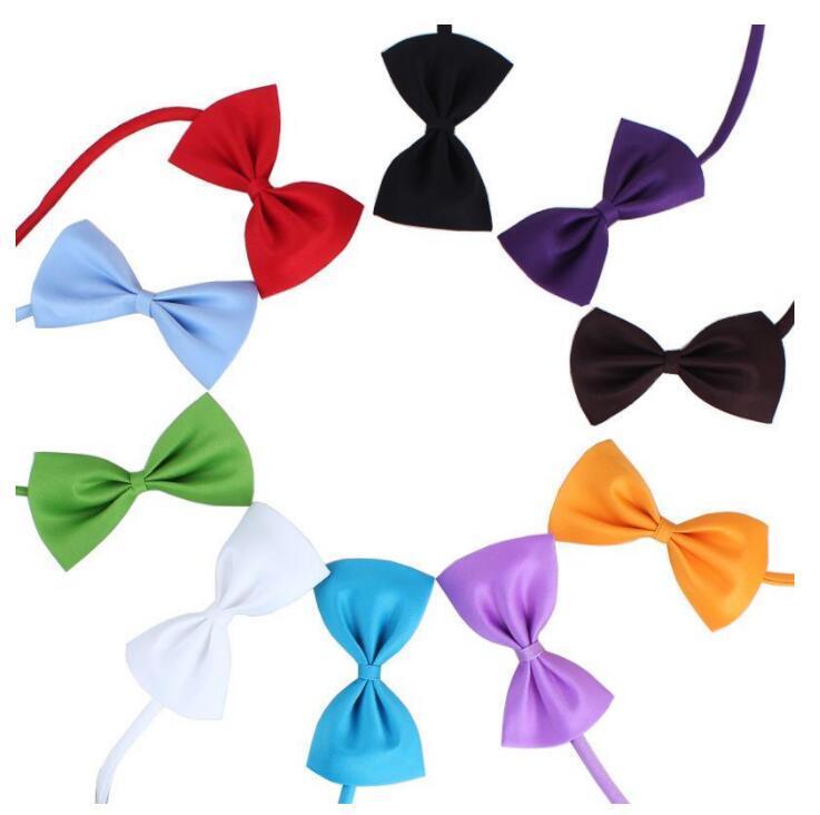 ПЭТ собака галстука галстука собака галстук воротник цветочные аксессуары украшения поставляет чистый цвет 2021 поп новый