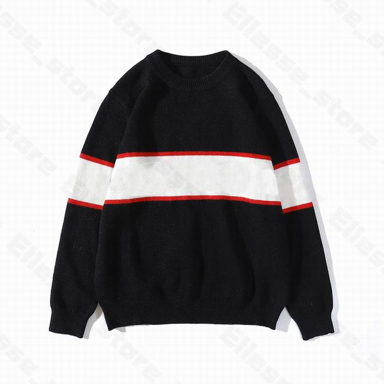 21SS Mens femmes Designers Sweaters Luxe Lettres Pullover Hommes Sweat à manches longues Sweat-shirt actif Broderie Tricots Chaud Hiver Vêtements