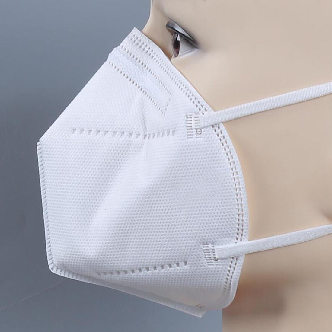 Fabrika Fiyat Tek Kullanımlık Yüz Maskeleri Kalın 5-Katmanlı Dokuma PM2.5 Partikül Maskeleri Stokta DHL Ücretsiz Kargo