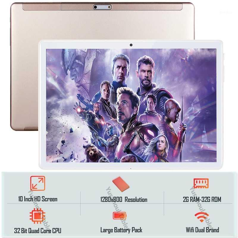 """Sales 10 inch Tablet pc Quad Core 32GB ROM HD resolution 1280*800 IPS 2.5D Tempered Glass Screen 5.0MP GPS WiFi 10"""" Tablet pc1"""