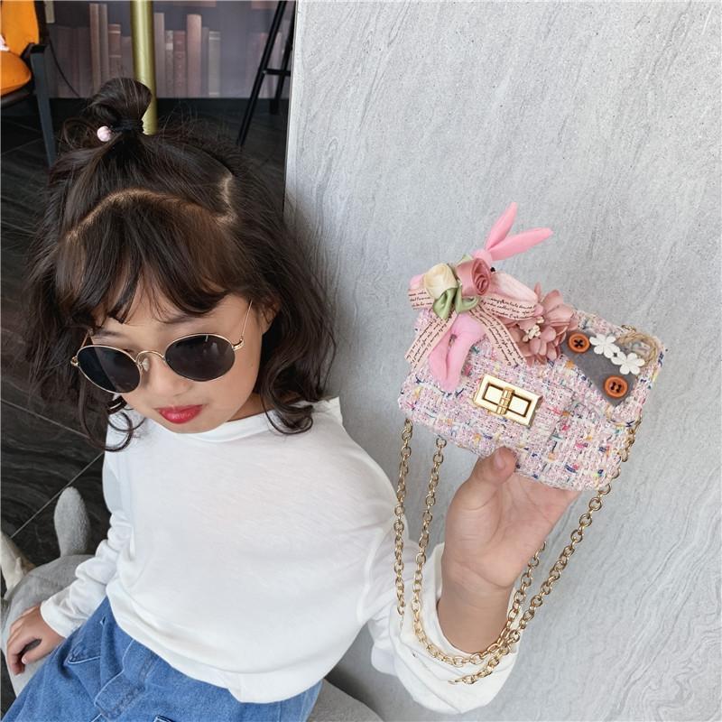qat0 2020 nouveau PU vente filles chaude porte-monnaie portefeuille portefeuille enfants un sac à bandoulière petite monnaie sac de monnaie change sac enfants EIV2