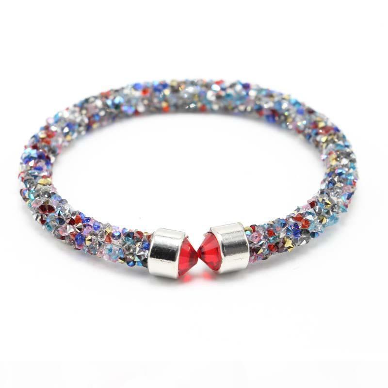 H Best Gift New Jewelry Lap Diamond Jewelry Bracelet Hot Fb098 Mix Order 20 Pieces A Lot Charm Bracelets
