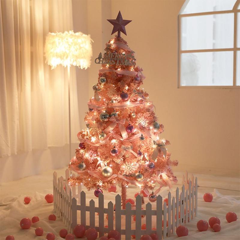 60 cm mini albero di natale artificiale Capodanno domestico ornamenti desktop natale decorazione albero decorazione natalizia
