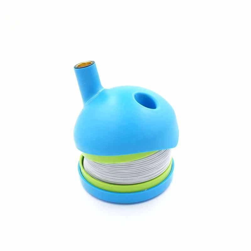 Tabakpfeifen Wasserleitung Kunststoff Tragbare Außenhandel Raucher Set Großhandel Rauchen Set
