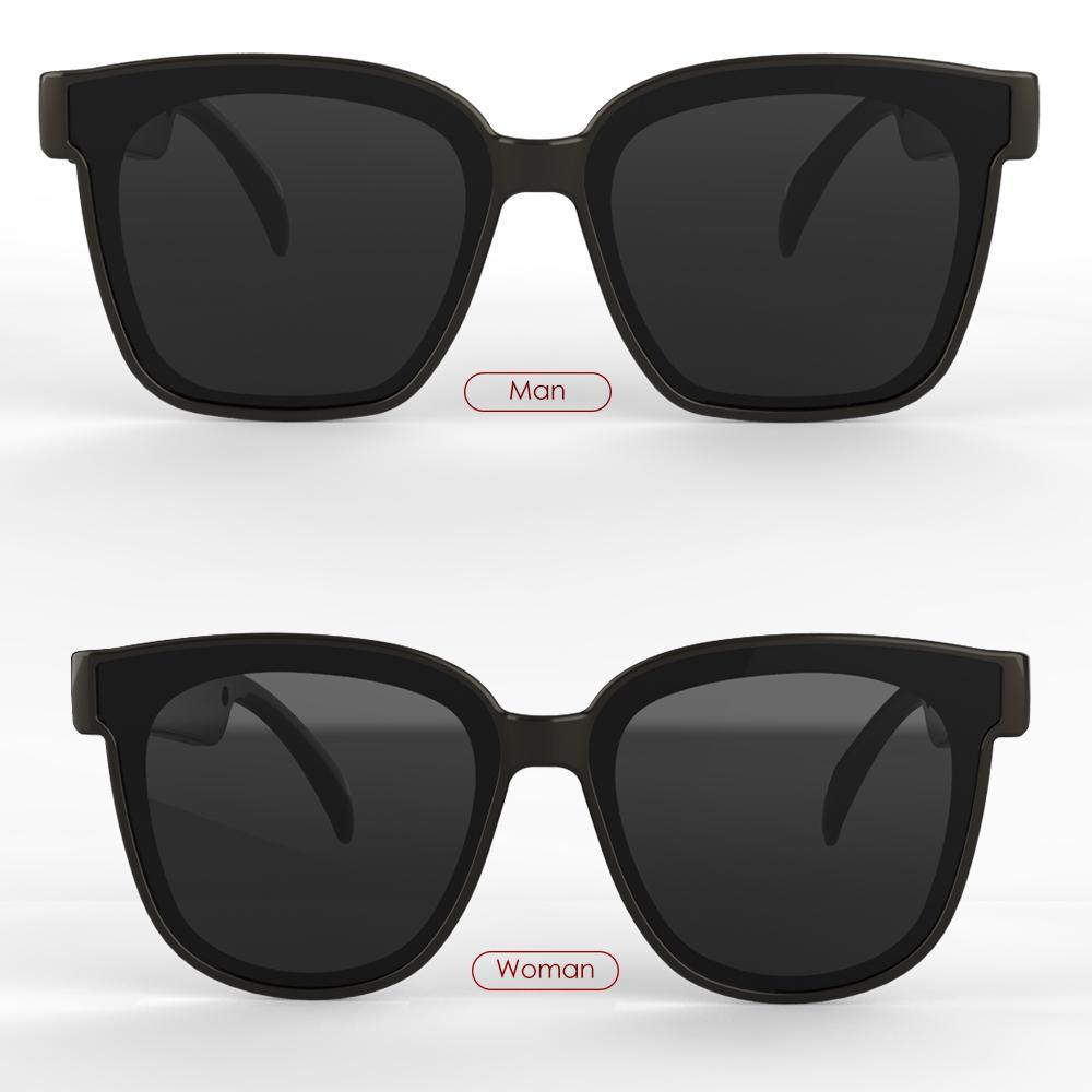 2021 مصمم النظارات الشمسية بلوتوث زر تكنولوجيا التحكم نظارات المرأة الرجل النظارات الأيدي الحرة صوت النظارات الصوت الذكية عن بعد
