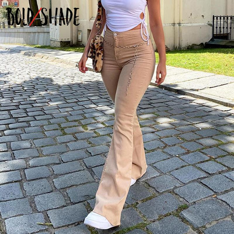 Ball Shadow Y2k Esthetic 2000S Boat Cut Broek Harajuku Effects Women E-Girl Vintage Denim jeans Streetwear Women's clothing Broek