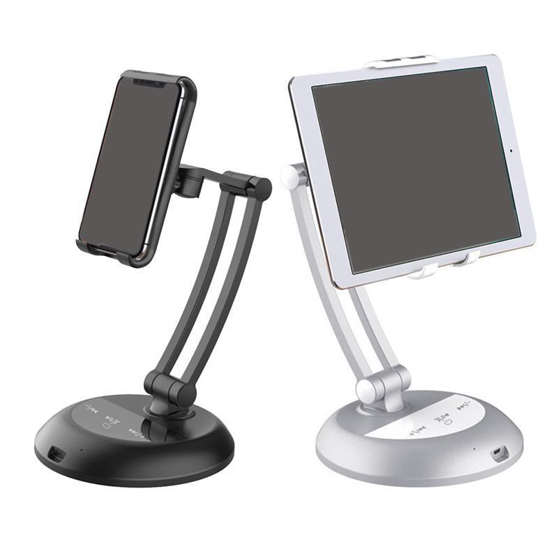 360 الدورية اللوحي الوقوف متعددة الوظائف المحمول phonetablet ABS / سبائك الألومنيوم لباد حامل
