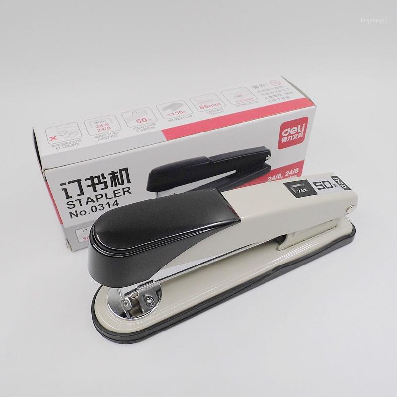 [DELI] Hohe Qualität 3 Farben 24/6 24/8 Metall Standardhefter mit Staples Schulbüro Binding Supplies No.03141