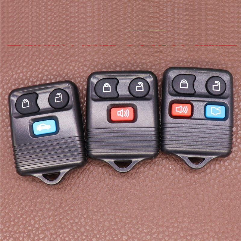 Автоматический файл удаленного ключа автомобиля корпус для FORD FOB Clicker Control Control Court Cover Car-Styling