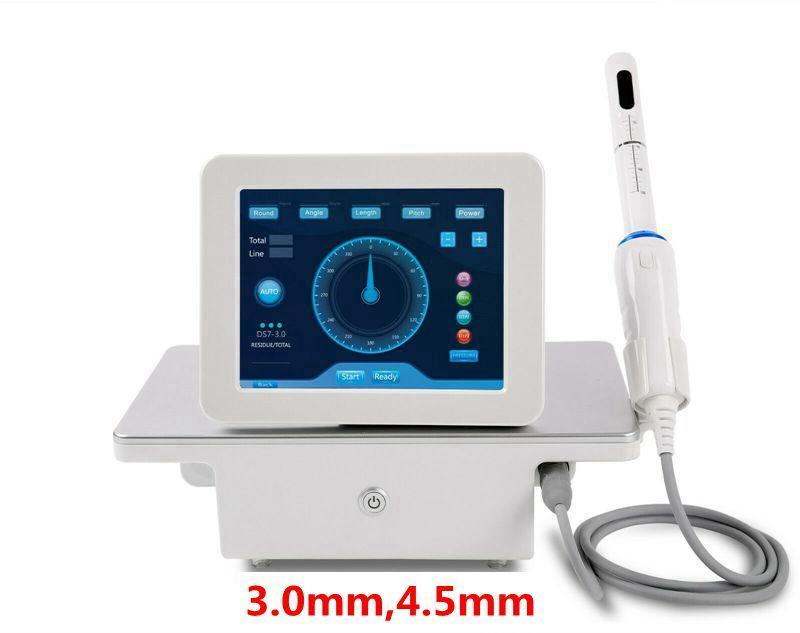 Haute qualité!!! Portable HIFU machine vaginale de haute intensité d'ultrasons concentrée de rajeunissement vaginal de rajeunissement de peau de peau de protection de la peau