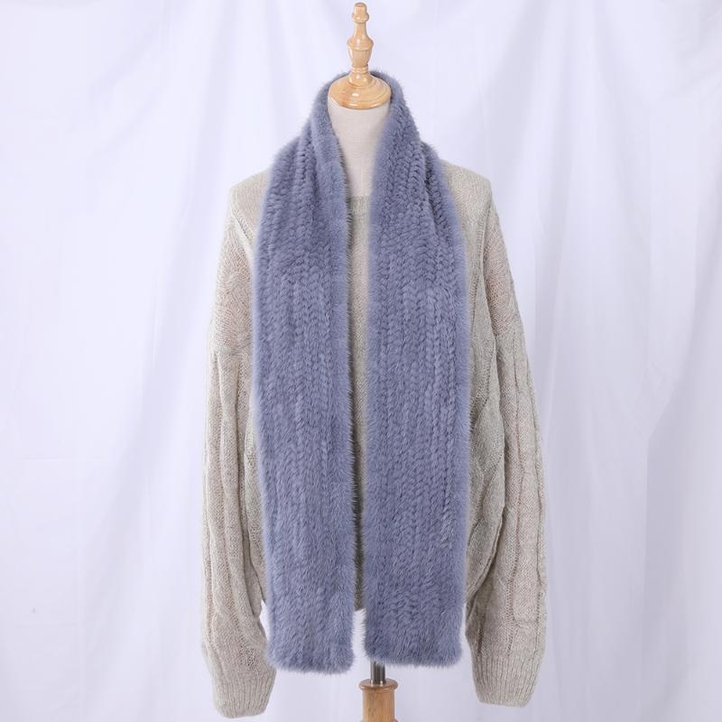 2021 Nouvelle Arrivée Unisexe pour femmes véritables véritables véritables morceaux hiver mode de luxe boa fourrure foulard foulards écharpes wraps silencieux