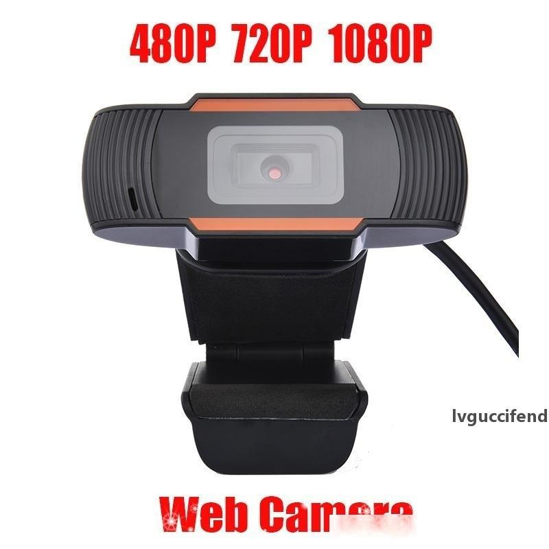HD Webcam Web Camera 30fps 480P/720P/1080P PC Camera Built-in Sound-absorbing Microphone USB 2.0 Video Record For Computer PC Laptop MQ50