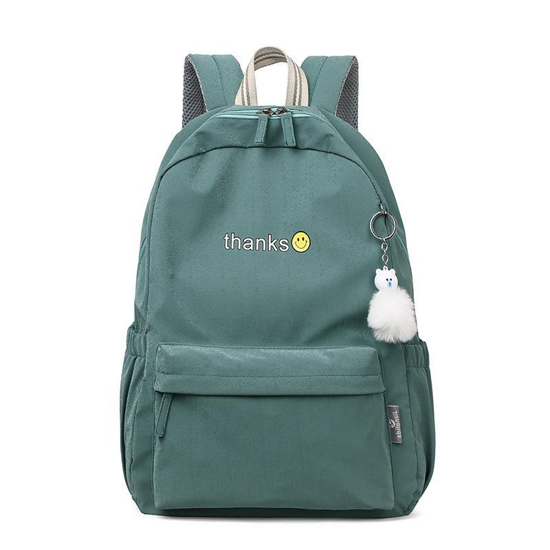 Green Oxford Women for Bag College Backpack New Teen Bookbags School Lightweight Gran Bagbag Student Soft Teenagers Girls FQGUV