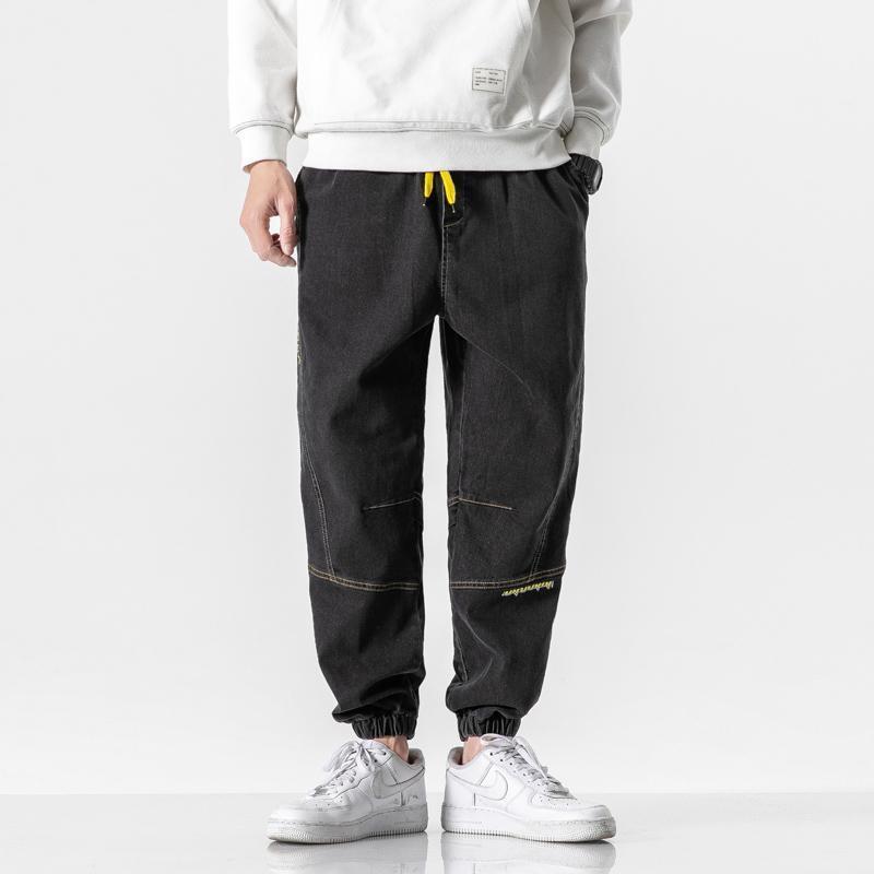 Erkek Kot 2020 Yeni Rahat Artı Boyutu erkek Kalınlaşmış Artı Kadife Pantolon Jeans Erkekler