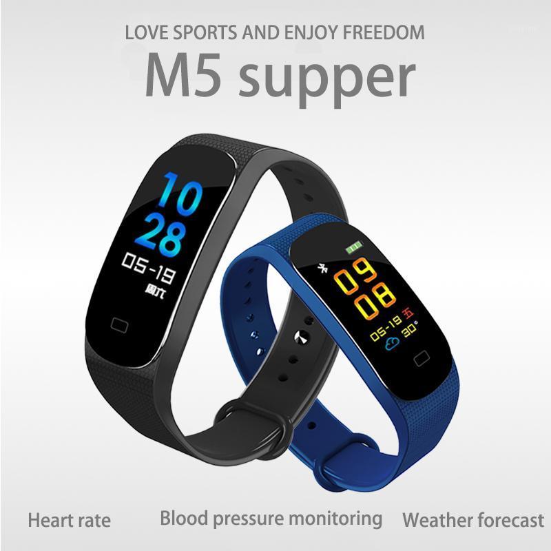 Smart Wristbands M5 SPER SPER SPORT FITNESS FITL BAND Pulseira Ligação Assista Pulseira SmartBand Pressão arterial Monitor de frequência cardíaca Men1