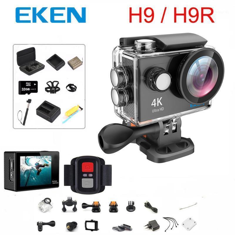 """Original EKEN H9 / H9R Cámara de acción Ultra HD 4K / 30FPS WIFI 2.0 """"170D Bajo el agua a prueba de agua Cámara Vedio Sport Pro Cam1"""