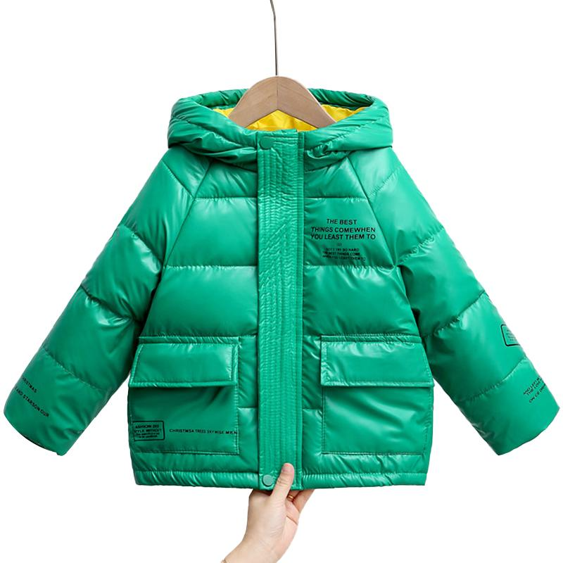 2020 Automne et hiver Nouveaux produits Childrens Mode Enfants Down Jacket Veste Lettres Lettres Vêtements pour enfants Down Veste Guerre