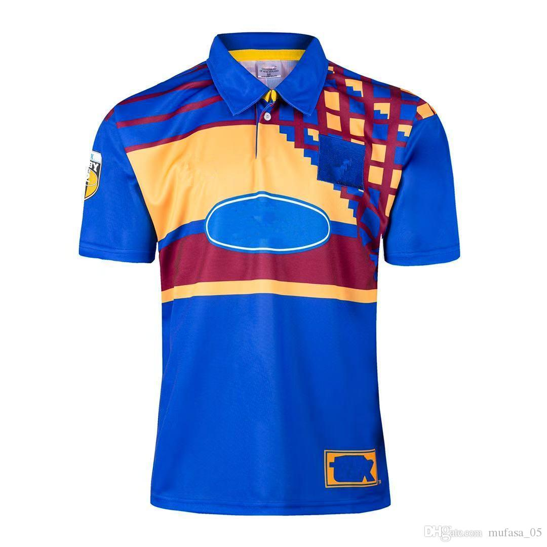 Classic retro version 2021 Super Rugby Jersey Highlanders home away t-shirt Rugby Jerseys HIGHLANDERS Retro singlet Rugby shirt