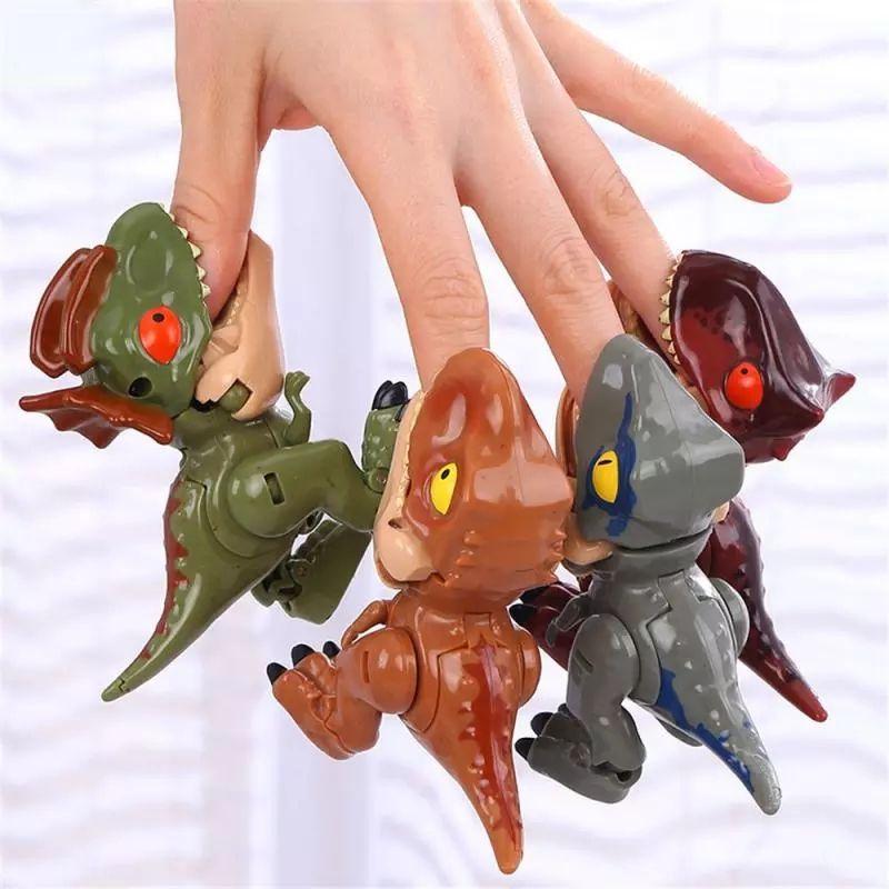8286 Yuexing Deformato Giocattolo Dinosauro Q versione di Tyrannosaurus Rex Simulazione per bambini Dinosauro Modello Fabbrica Direct Vendita calda