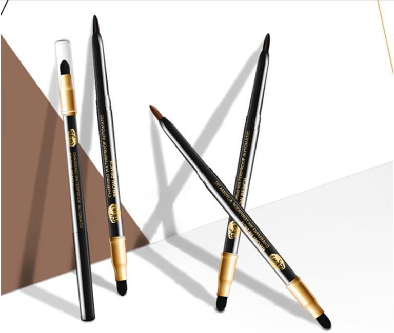 Sıcak satış ucuz ILISYA otomatik kaş kalemi su geçirmez uzun ömürlü giymek kolay dayanıklı makyaj kalem su geçirmez kaş kalemi