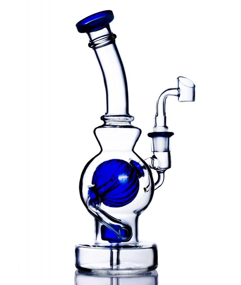 2 월 에그 봉 봉 연기 파이프 헤드 리 유리 오일 장비 두꺼운 유리 물 봉지 Dabber 애쉬 포수 물 담뱃대 Shisha 14mm Banger