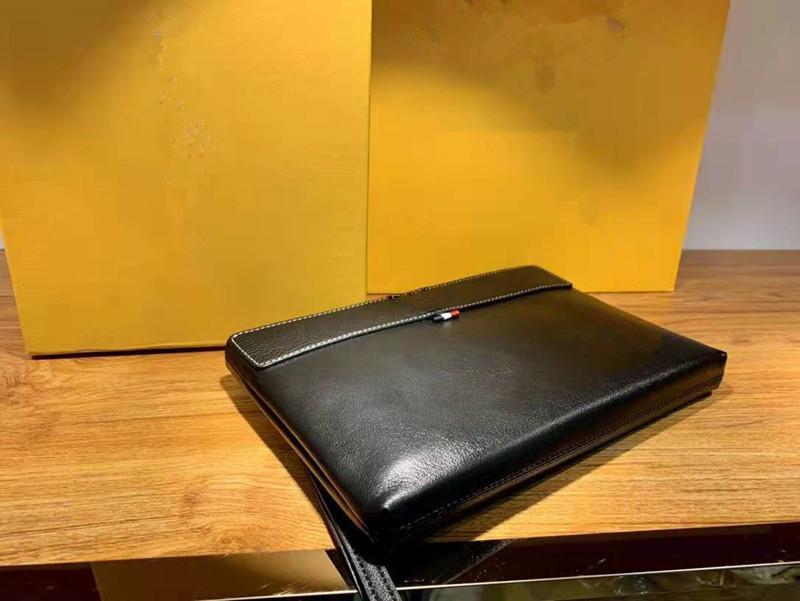 Erkekler Çanta Erkek Deri Yumuşak Zarf Kavramalar Klip Yakaladı Eğlence El Çantası Erkek Ucuz Fermuar Debriyaj Messenger Cluc Çanta Unisex Siyah