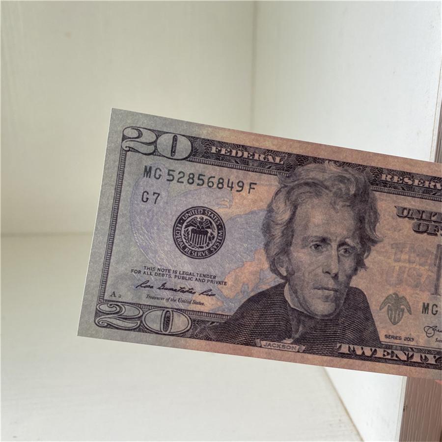 All'ingrosso di alta qualità 100 pezzi / pacchetto Bar Atmosphere Puntelli American Paper valuta valuta dollaro di carta soldi Puntelli spedizione gratuita 20-1
